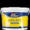 Dulux Acryl Matt / Дулюкс Акрил Мат Глубокоматовая латексная краска для стен и потолков